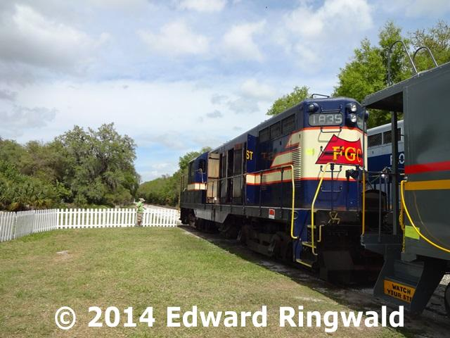 Railroad Parrish Museum Florida