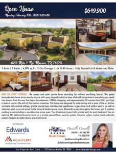 Realtor Open House with Star Properties' Danielle Connolly
