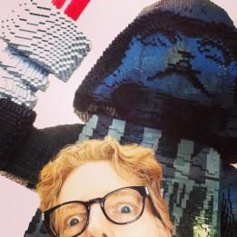 Edward Terry (& Darth Vader at Legoland)