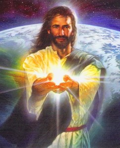"Jesus said, ""I am the Light of the World."""