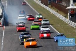 Start Porsche 944 Cup - Porsche 944 - ADPCR - DNRT Super Race Weekend - Circuit Park Zandvoort