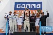 Podium - Frédérique Jonckheere - Ward Sluys - Patrick Lamster - Donald Molenaar - Simon Atkinson - Supercar Challenge - Gamma Racing Day TT-Circuit Assen