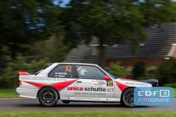 Kevin Kooijman - BMW M3 E30 - Unica Schutte ICT Hellendoorn Rally 2015
