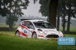 Hans Weijs Junior - Kris Botson - Ford Fiesta R5 - Unica Schutte ICT Hellendoorn Rally 2015
