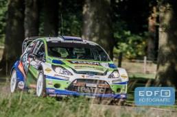 Dennis Kuipers - Robin Buysmans - Ford Fiesta RS WRC - Unica Schutte ICT Hellendoorn Rally 2015