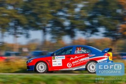 Marco Schapers - Patrick Stolk - Mitsubishi Lancer EVO 10 - Conrad Twente Rally 2015