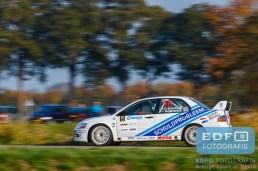 Ernst Kranenburg - Peter van Teunenbroek - Mitsubishi Lancer EVO 8 - Conrad Twente Rally 2015