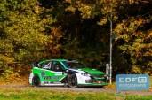 Erik van Loon - Harmen Scholtalbers - Subaru Impreza WRC S14 2008 - Conrad Twente Rally 2015