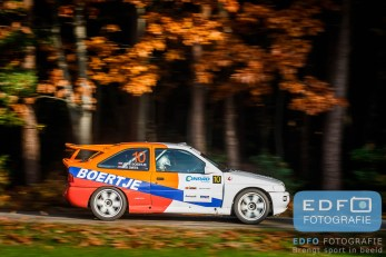 Ad Smits - Arie Boertje - Ford Escort RS Cosworth - Conrad Twente Rally 2015
