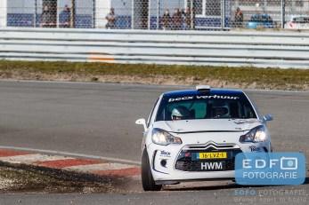 Michiel Beckx - Edwin Kuipers - Citroen DS3 R3 - Circuit Short Rally - Circuit Park Zandvoort