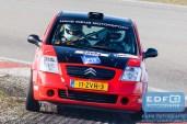 Steven van der Ploeg - Menno Weeda - Citroen C2 R2 - Circuit Short Rally - Circuit Park Zandvoort