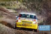 David Jans - Marieke van Gorssel - Opel Corsa - Circuit Short Rally - Circuit Park Zandvoort