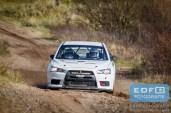 Steen Anderson - Jasper van den Heuvel - Mitsubishi Lancer EVO X R4 - Circuit Short Rally - Circuit Park Zandvoort