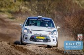 Michiel Becx - Edwin Kuijpers - Citroen DS3 R3 - Circuit Short Rally - Circuit Park Zandvoort