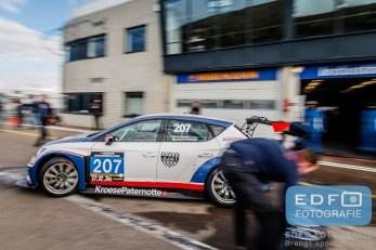Martin van den Berge - Henk Haane - Bas Koeten Racing - Seat Leon Cupracer - DNRT WEK Final 4 - Circuit Park Zandvoort