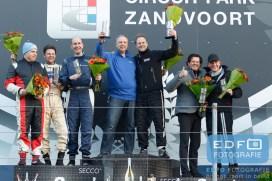 Podium divisie 4 - DNRT WEK Final 4 - Circuit Park Zandvoort