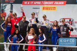 Finish podium Sport Divisie - New Race Festival - Circuit Zolder