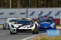 Carlijn Bergsma - Pieter de Jong - Lotus Exige - Van der Kooi Racing