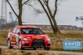Jim van den Heuvel - Jac Gillis - Mitsubishi Lancer EVO 10 - Heuvel Motorsport - Zuiderzeerally 2016