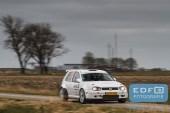 Hans Weijs - Jamilla van Altena - Volkswagen Golf 4 Kitcar - Zuiderzee Short Rally 2016