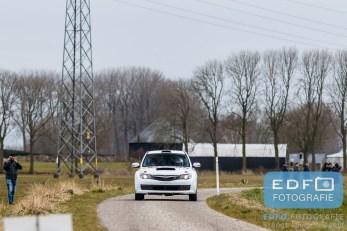 Maak Willems - Martin Nortier - Subaru Impreza N14 - WDM Motorsport - Zuiderzeerally 2016