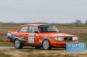 Pierre Brouwer - Paul Helmink - Volvo 240 Turbo - Zuiderzeerally 2016