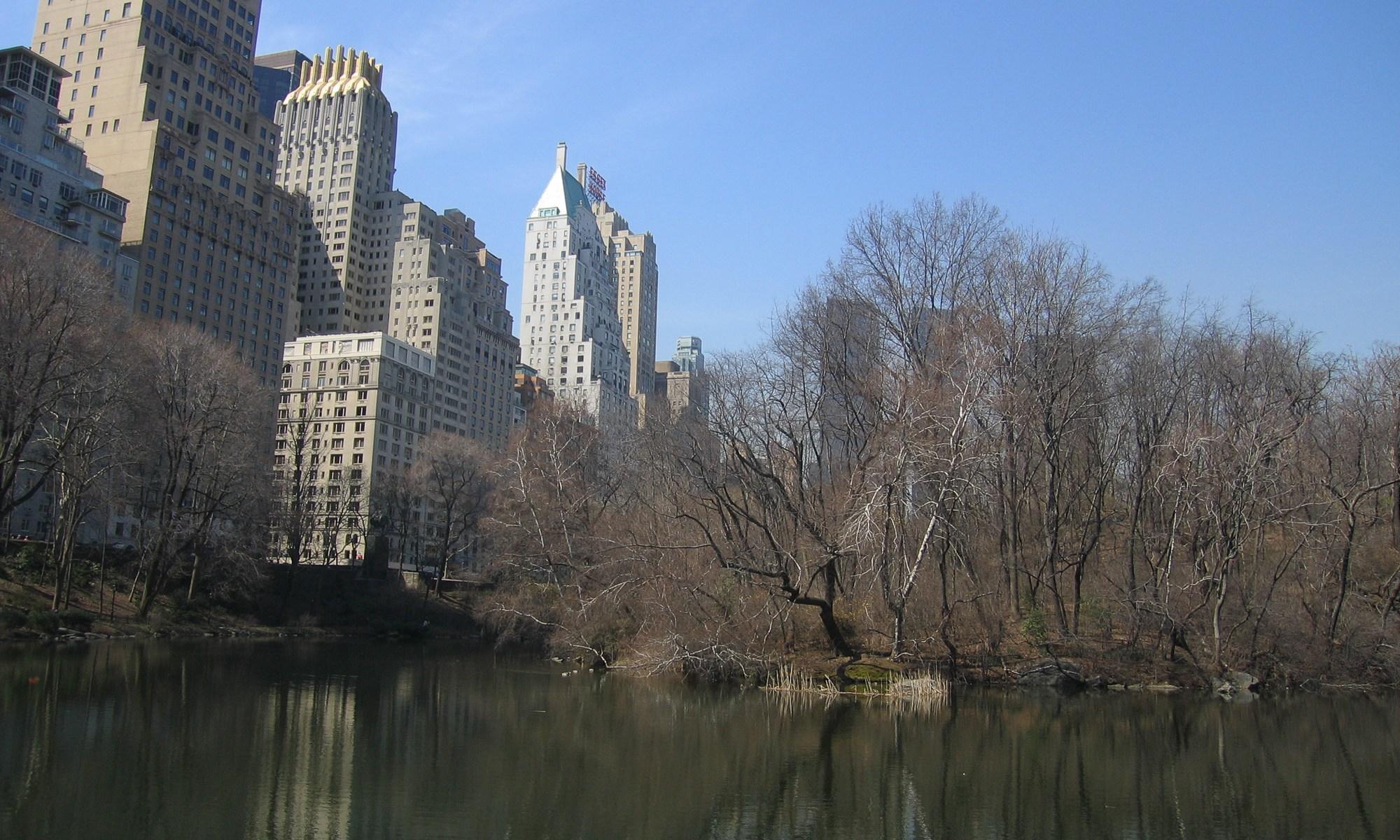 Central Park Pond - New York City