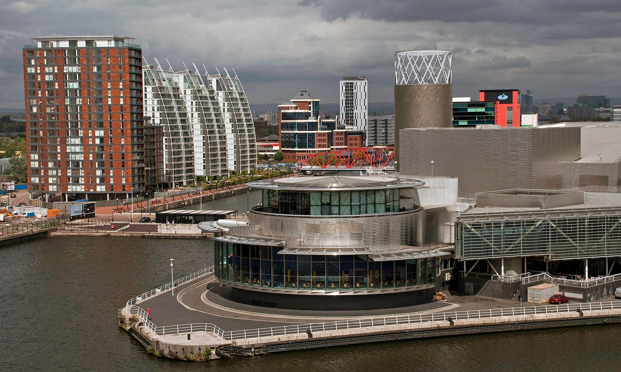 Lowry Theatre at Salford Quays