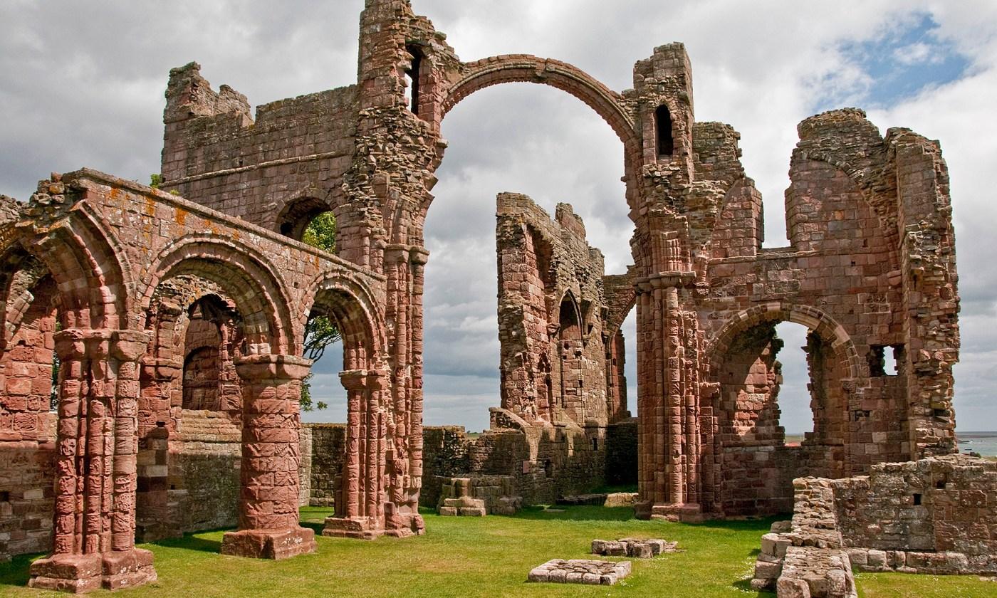 Priory on Lindisfarne, Northumberland
