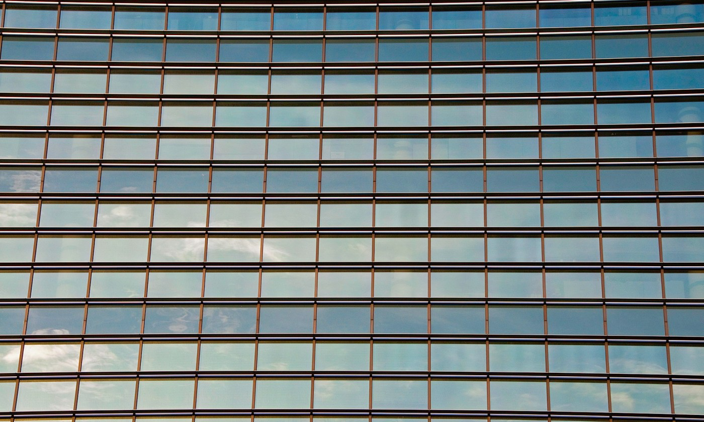 Glass Windows, Office building in Glasgow