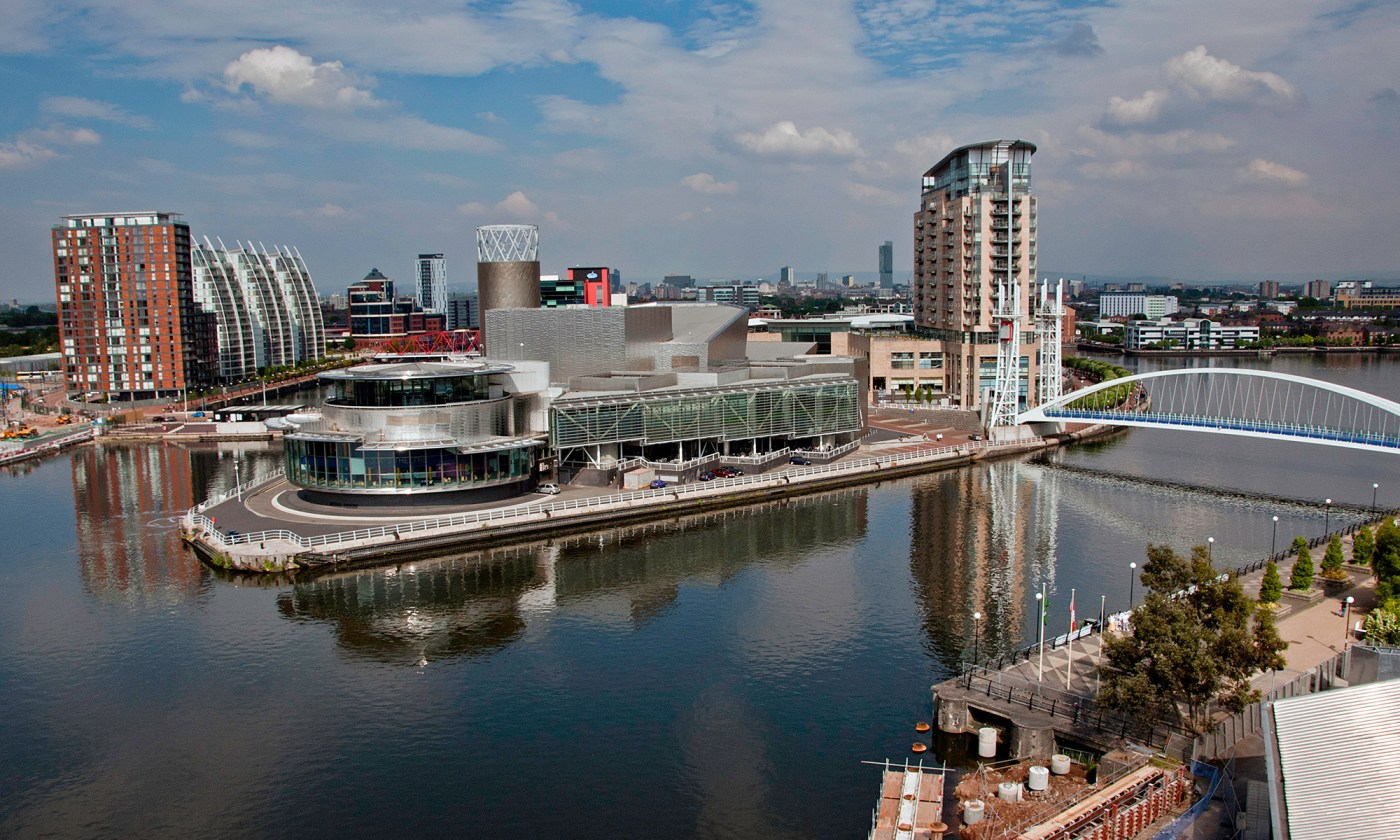 View over Salford Quays
