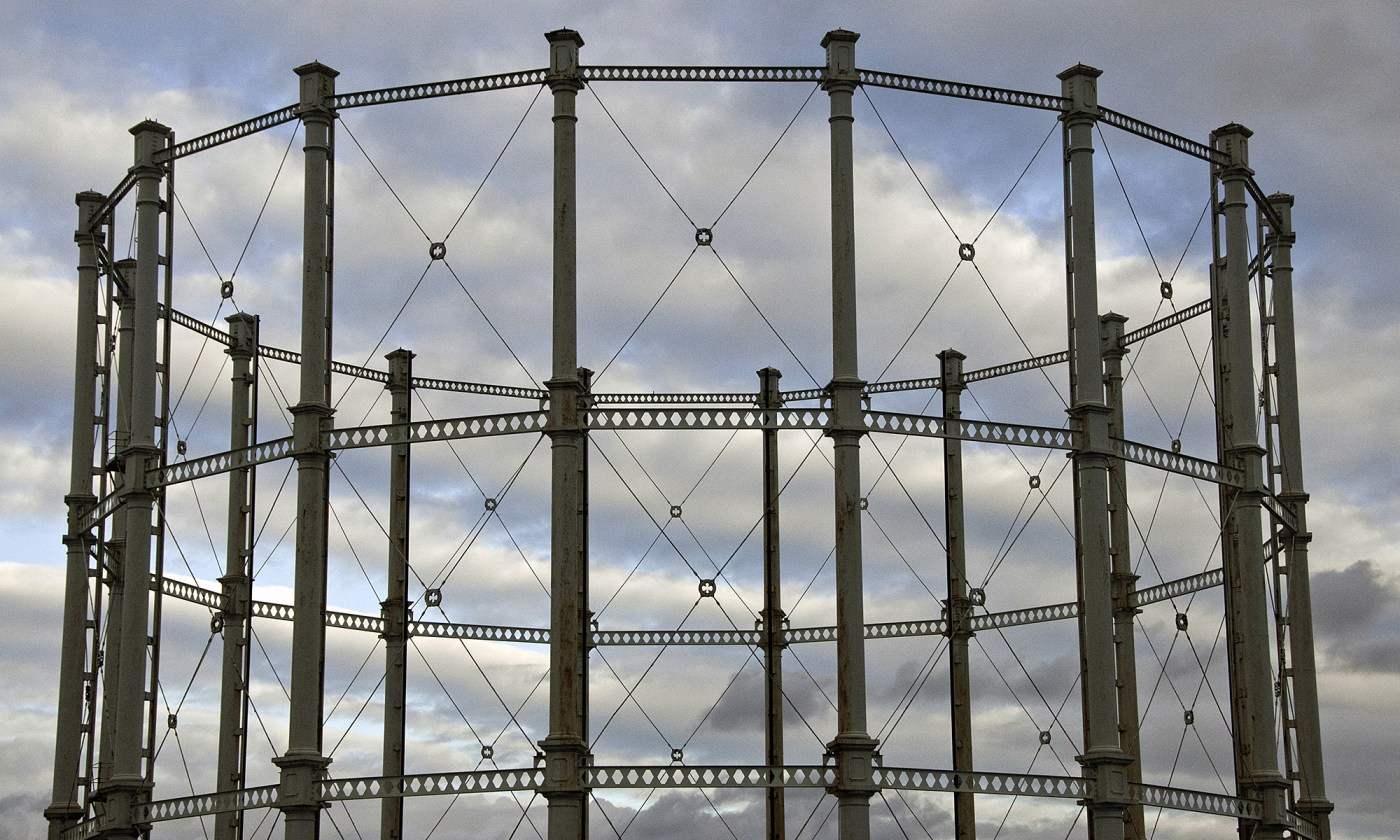 Empty Gas Holder