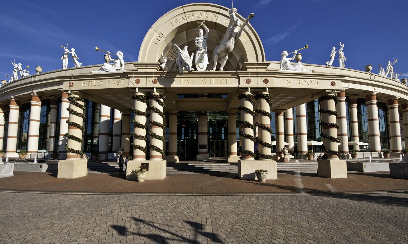 Trafford Centre's Grand Entrance