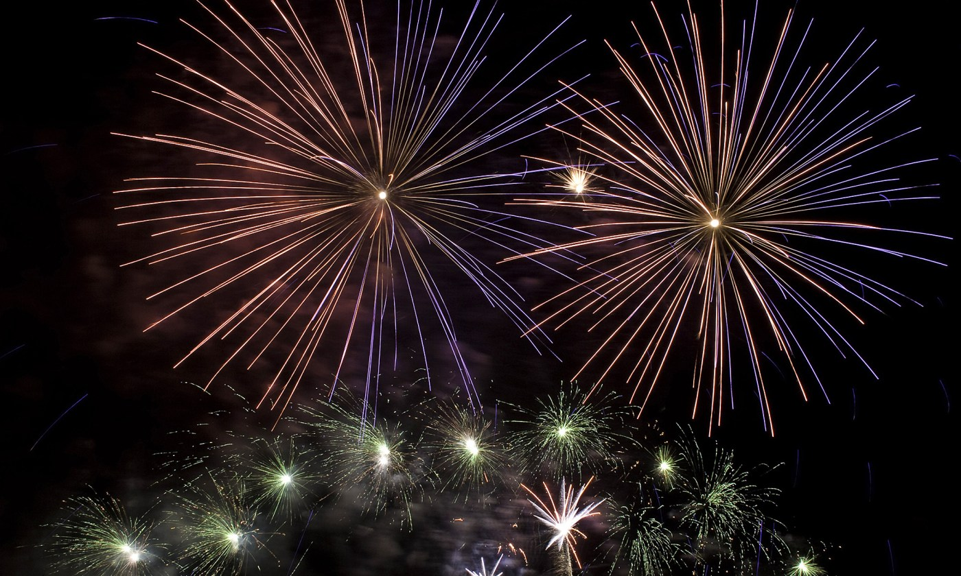 Fireworks to end the Year