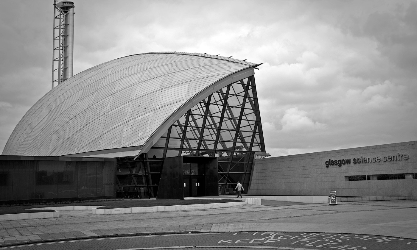 Glasgow Science Centre Entrance