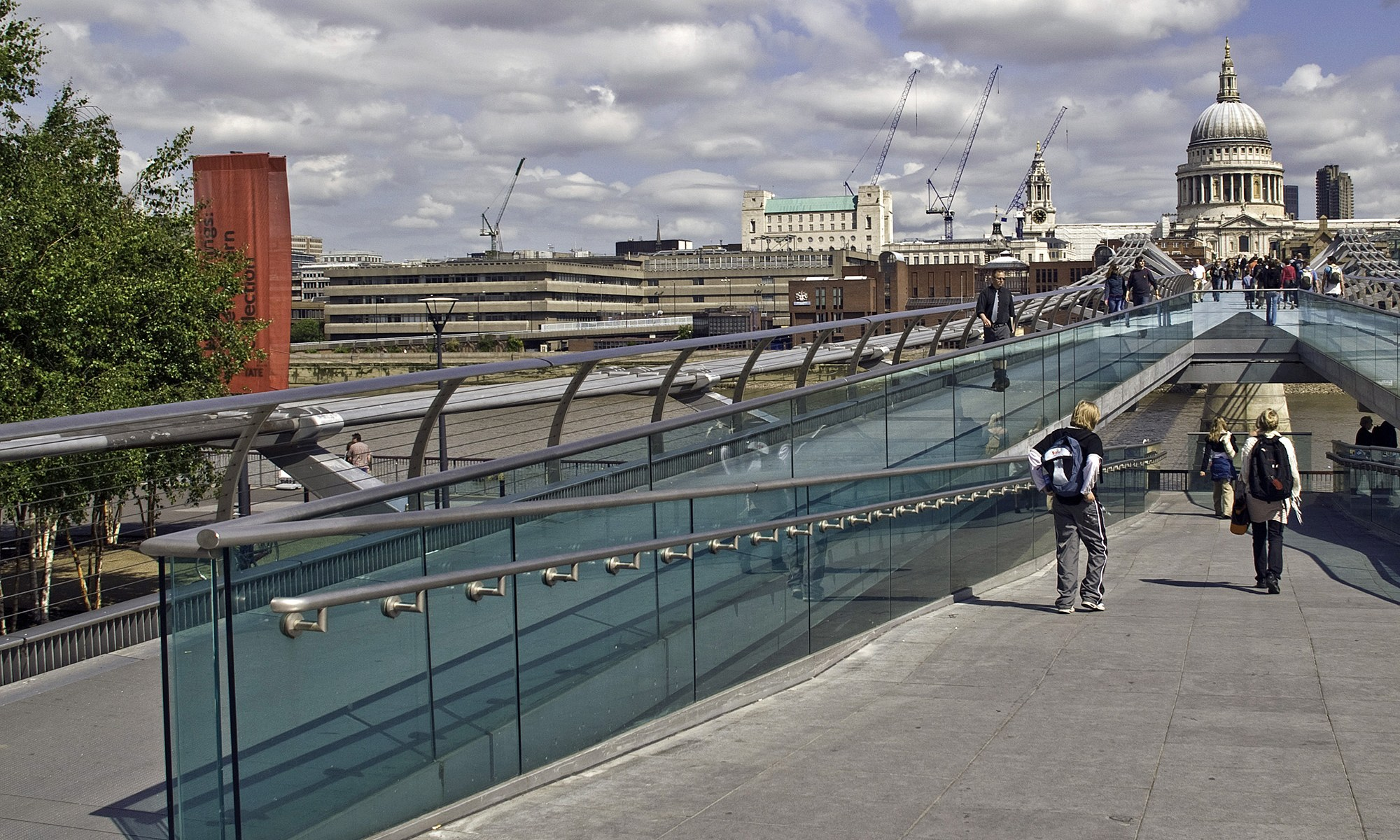 Millenium Bridge Walkway, London