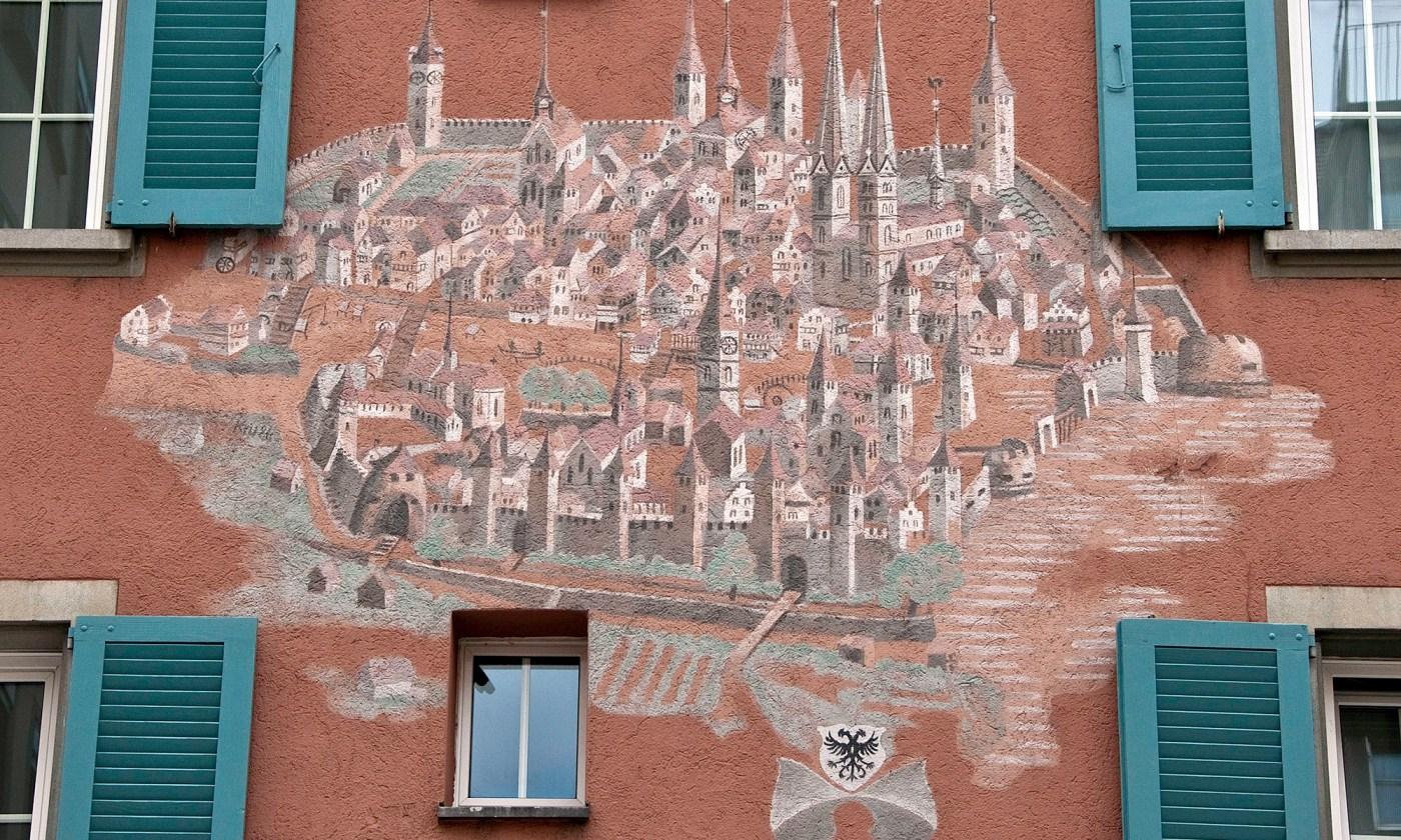 Zurich 1568 Painting