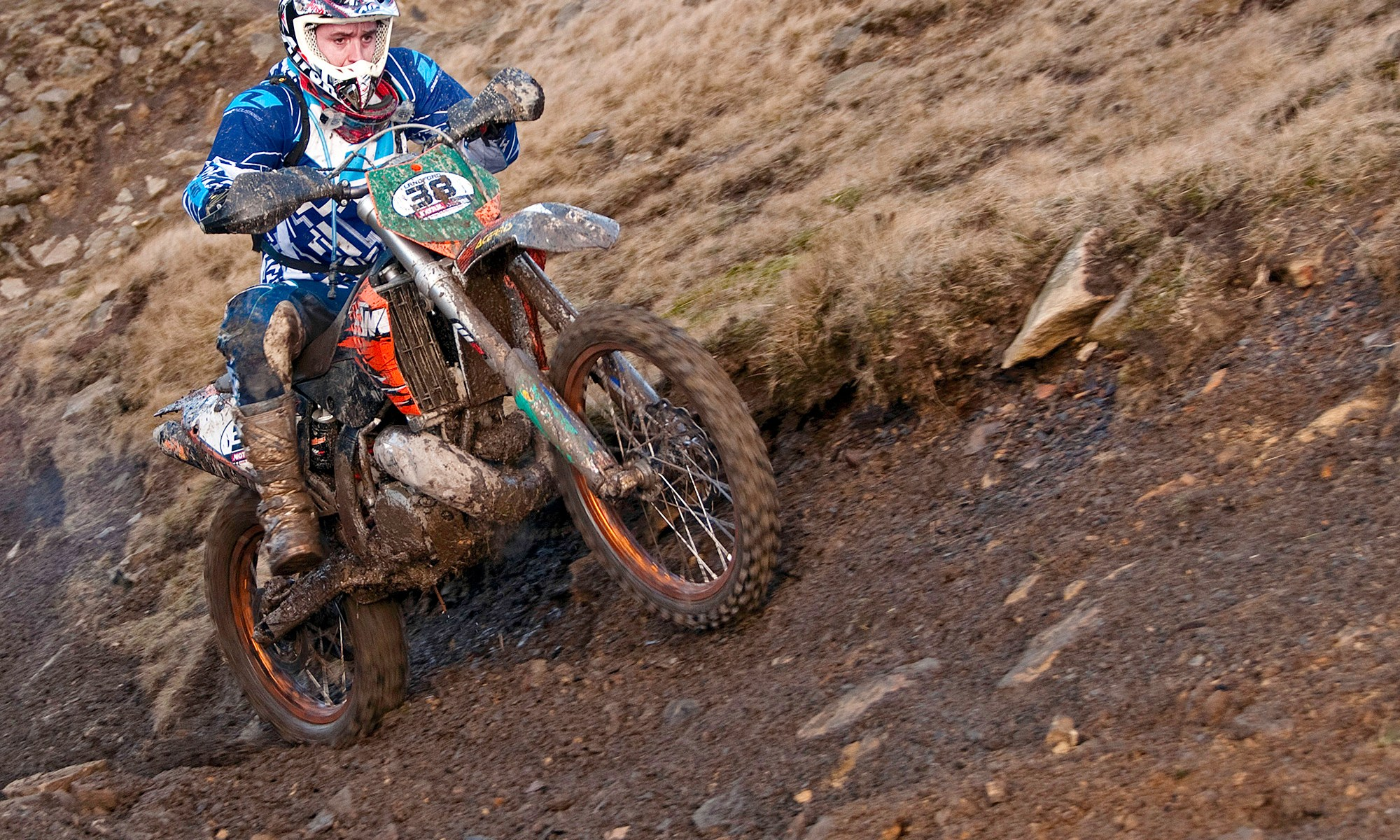 KTM 250 Motocross at Enduro