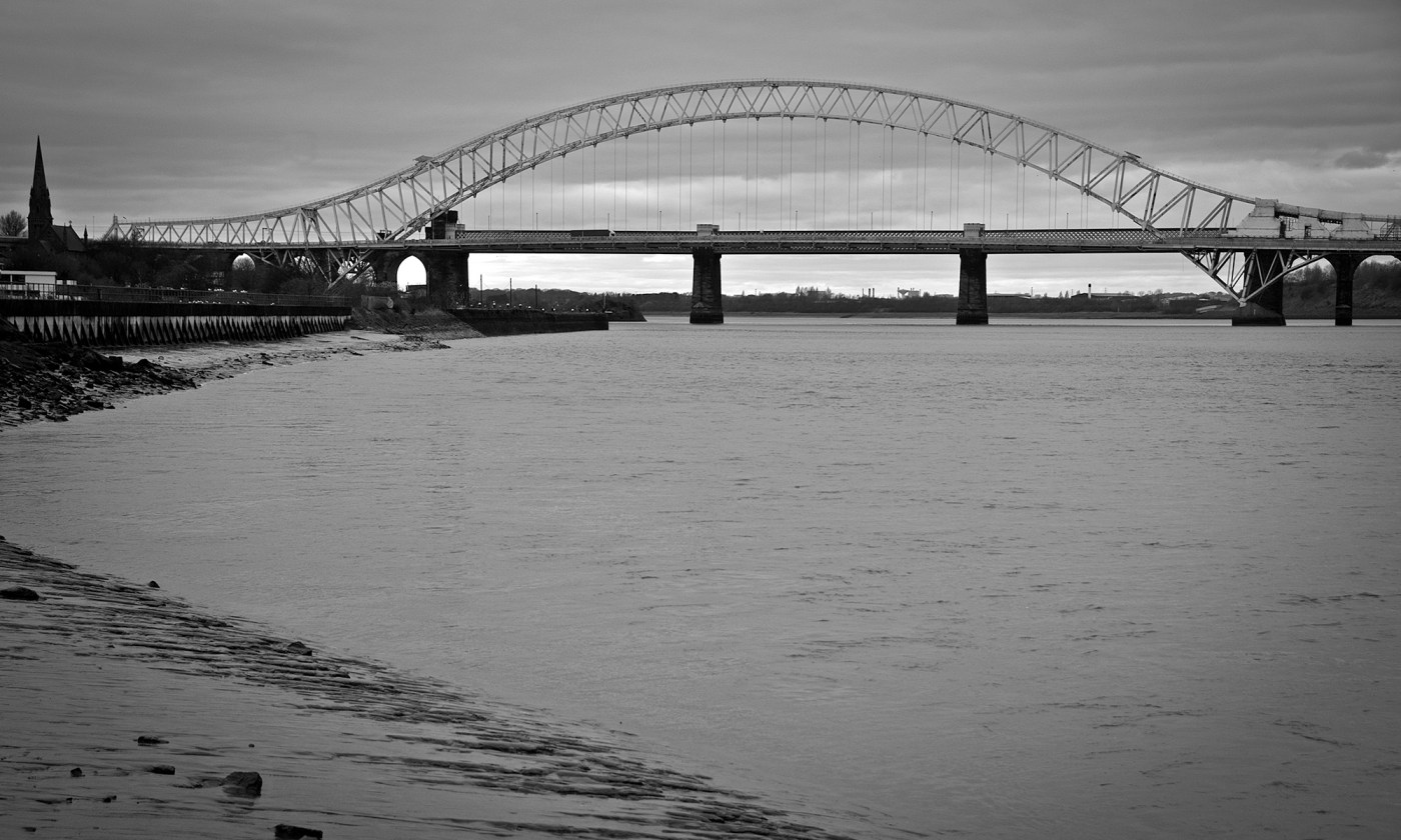 Silver Jubilee Bridge in Runcorn