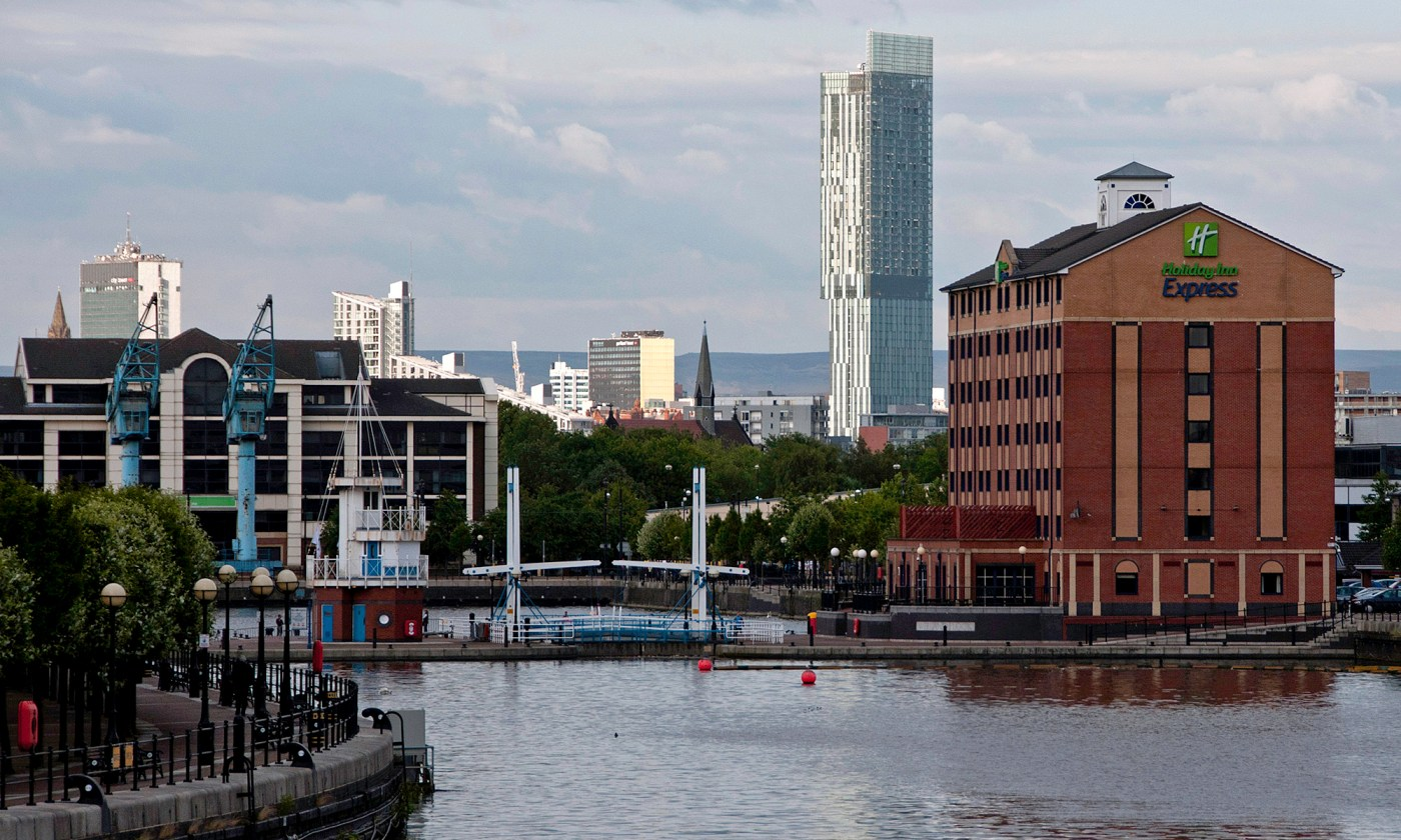 Beetham Tower from the Quays