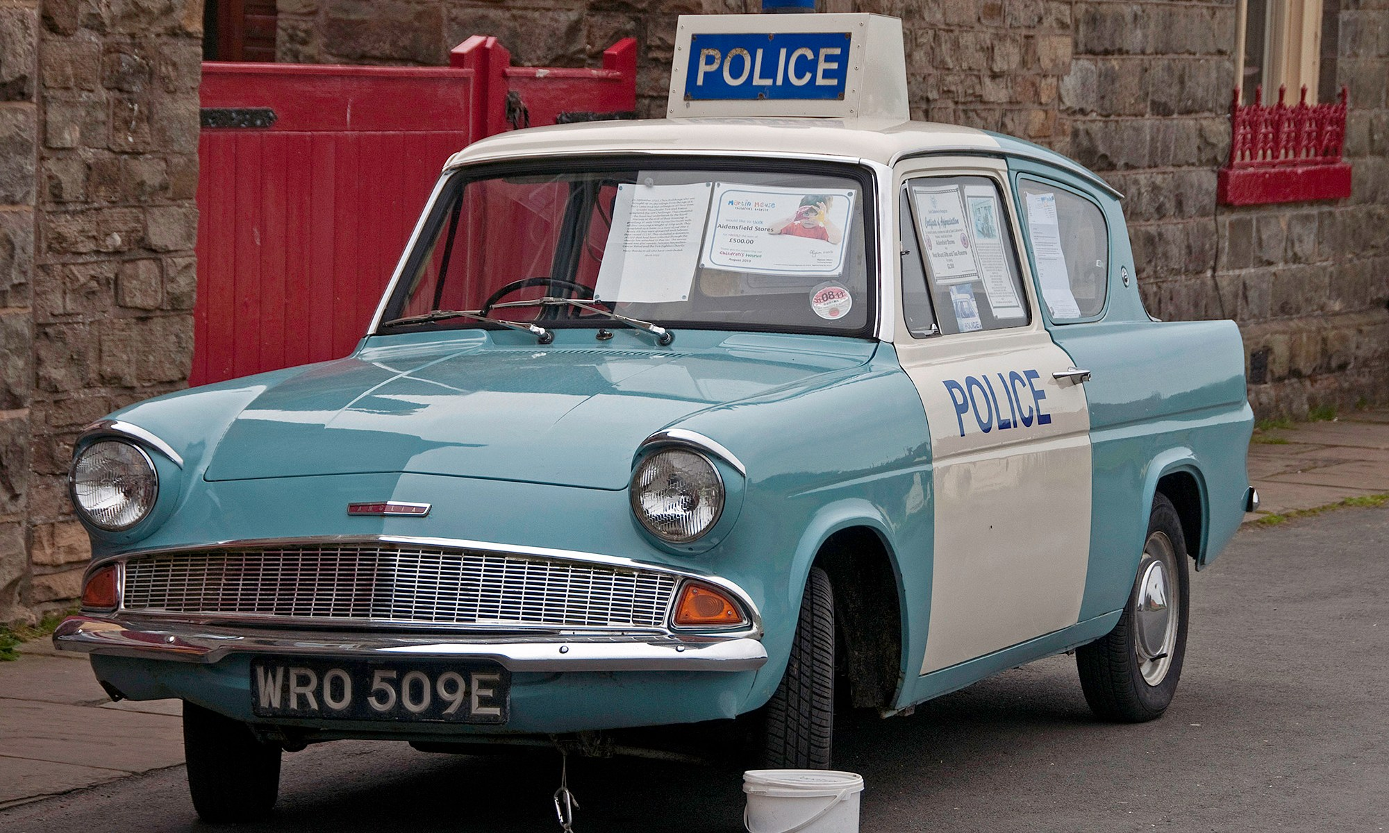 Ford Anglia Police Car