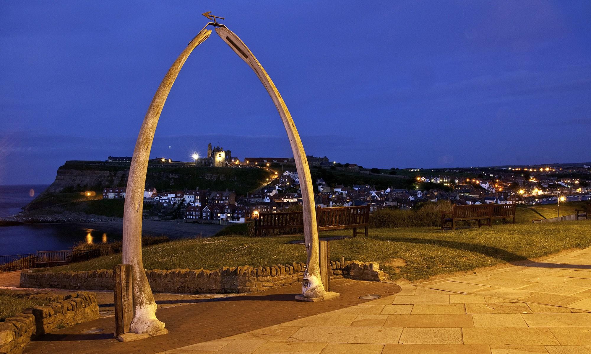 Whale Bone Arch Whitby