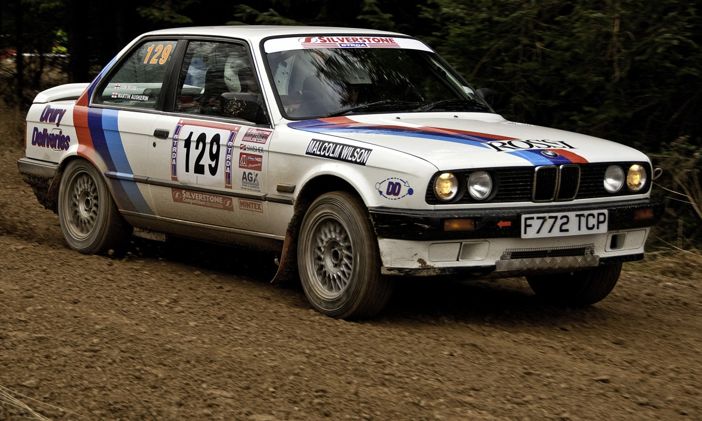 BMW 325 Rally Car