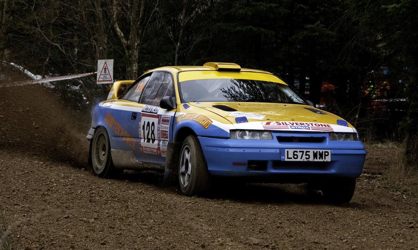 Vauxhall Calibra Rally Car