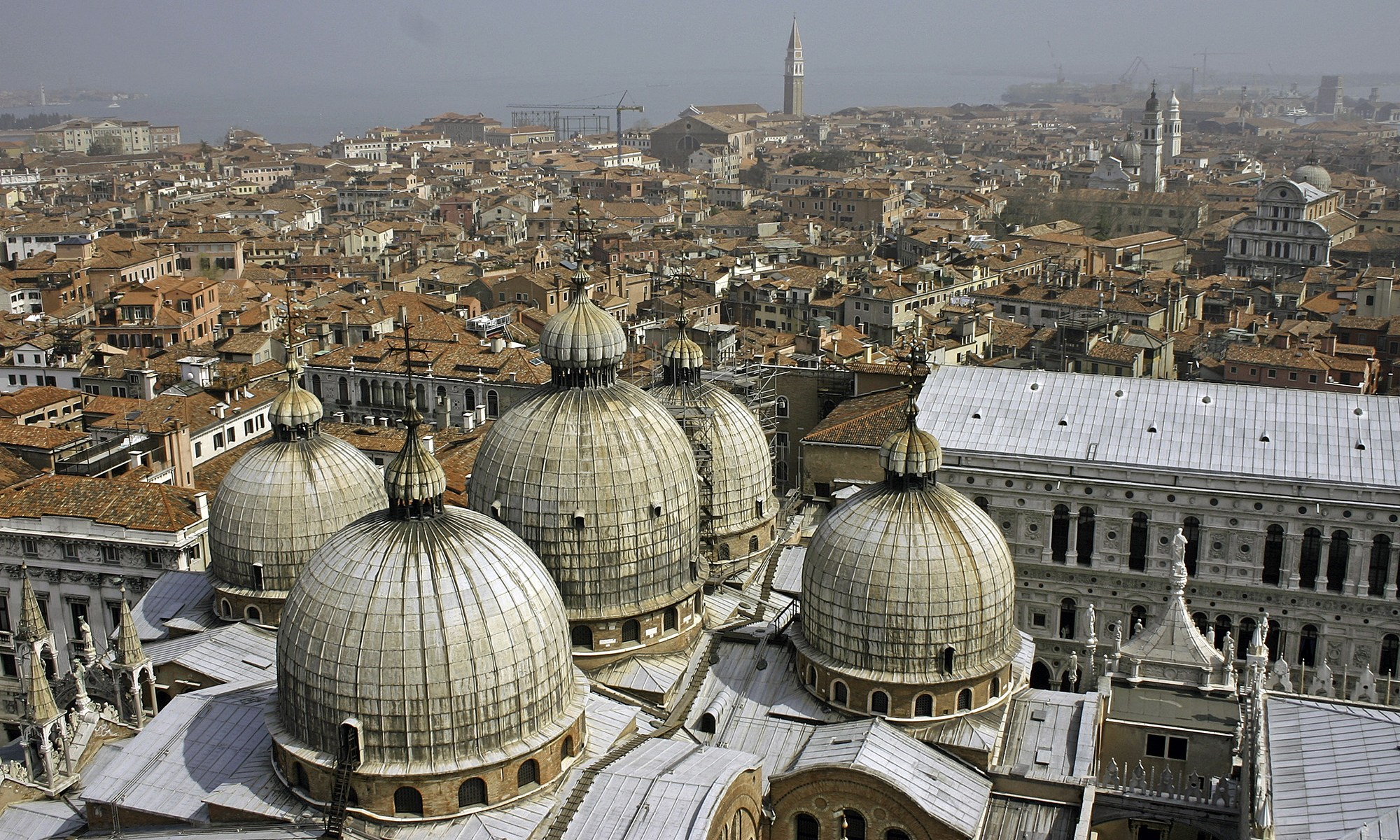 Domes of St. Mark's Basilica