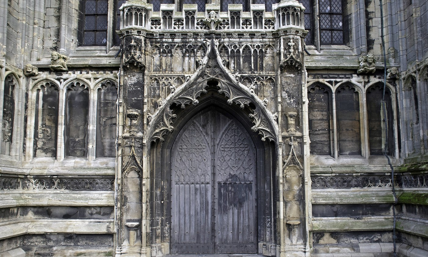 Door of St Botolph's Church, Boston