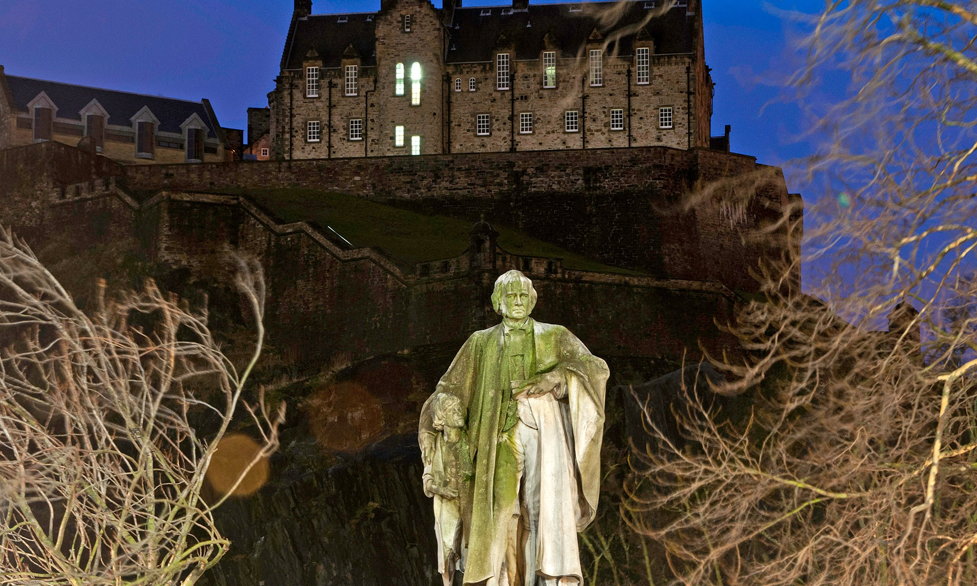 Thomas Guthrie Statue Edinburgh