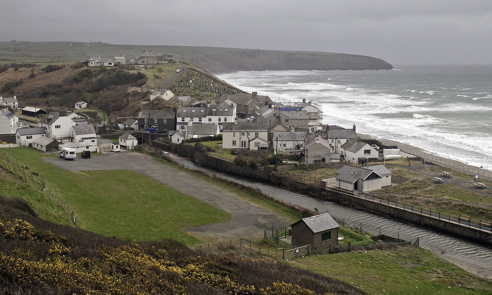 Aberdaron Village, North Wales Coast