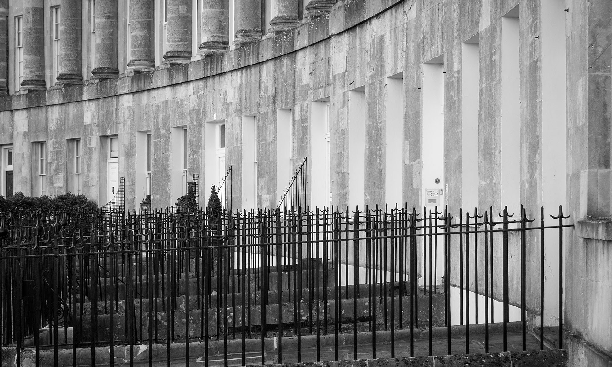 Royal Crescent Railing Detail