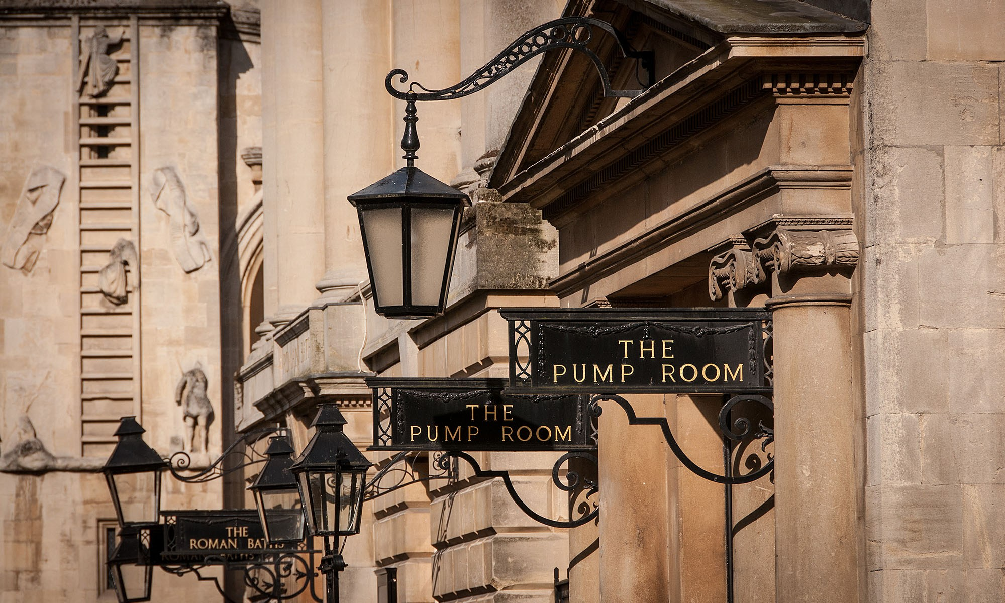 The Pump Rooms and Roman Baths Entrance